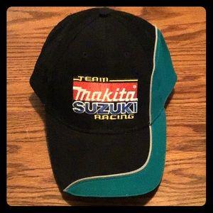 Team Makita Suzuki MX Racing Baseball Cap NWOT